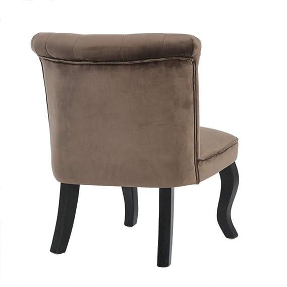 CaliCosy - Juego de 2 sillones Sapo en Terciopelo: Amazon.es ...