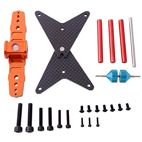 (Bettal Blade Propeller Balancer Parts for 250 450 500 600 700 RC Helicopter Quadcopter, Aluminum)
