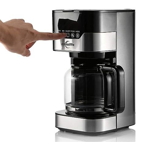Linbing123 Cafetera Completamente automática, máquina de café ...
