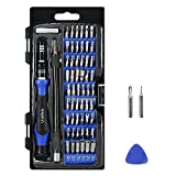 Precision Screwdriver Set with 56 Magnetic Driver Kits,61 in 1 Screwdriver Tool Set,with Flexible Shaft,Opener,Professional Repair for PS4/Computer/iPhone 8/Smartphone/Laptop/Xbox/Tablets/Camera/Toy