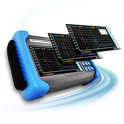 "SPEEDWOLF 1310/1550/1625nm 37/36/36dB OTDR 7"" Touch Screen LCD 160KM(100mi) FTTH Fiber Optic Cable Tester with VFL+Optical Fiber Power Meter+Light Source"