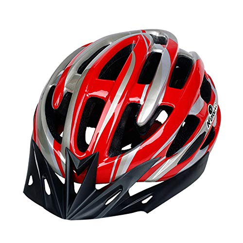 CapsA Bike Helmets Lightweight Microshell Bicycle Helmet Ultralight Featuring 360 Degree Comfort System Adjustable Bike Cycling Helmets with Light Size 57-61 (D, 57-61 cm)