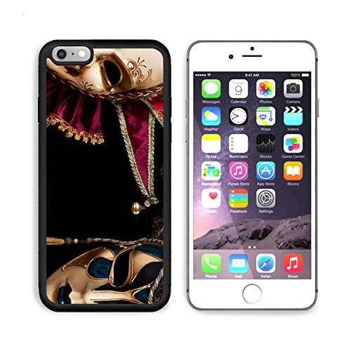 [MSD Premium Apple iPhone 6 Plus iPhone 6S Plus Aluminum Backplate Bumper Snap Case Carnival in Venice image with ample copyspace Isolated On black IMAGE 19315806 by MSD Customized] (Venice Carnival Costumes Ideas)