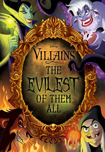 Book cover from Disney Villains: The Evilest of Them All (Replica Journal) by Rachael Upton