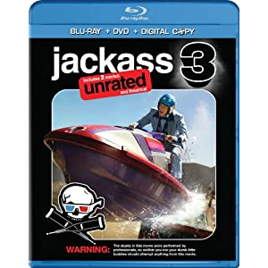 Jackass 3 (Two-Disc Anaglyph 3D DVD / Blu-ray Combo + Digital Copy) (2010)