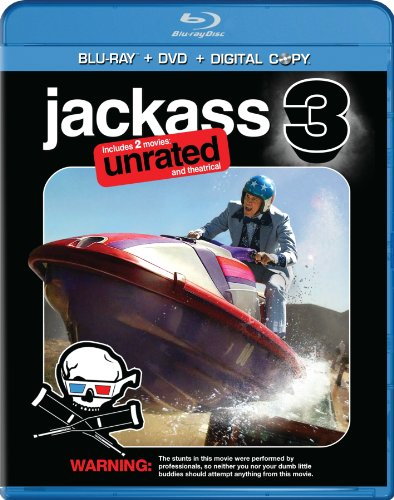 3 Disc Combo (Jackass 3 (Two-Disc Anaglyph 3D DVD / Blu-ray Combo + Digital Copy))