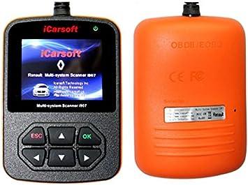 Diagnostic Scanner Engine Light Clear OBD2 Code Reader for Renault Laguna I