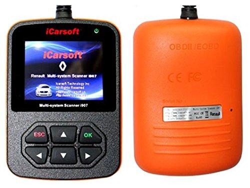 iCarsoft RENAULT/DACIA i907 OBD2 Vehicle Diagnostic Tool Code Fault Multi-System OBD-II Scanner