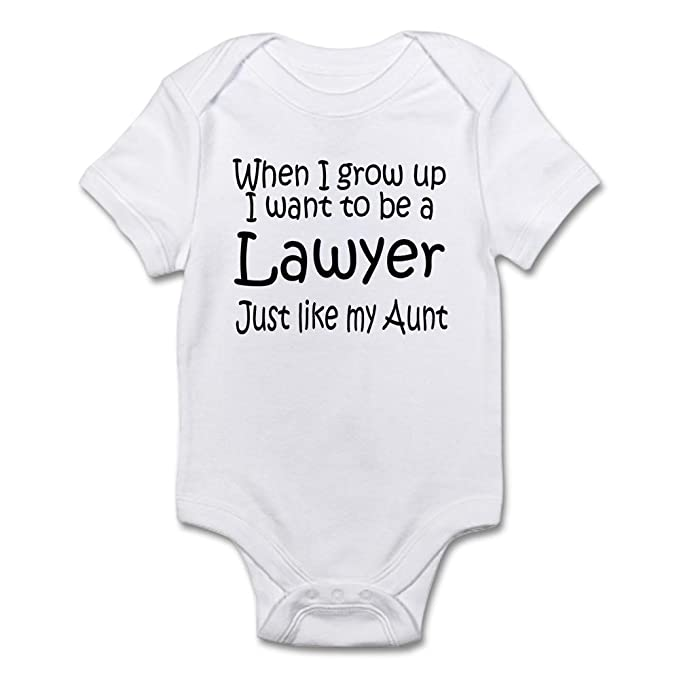 727b8f85b CafePress - WIGU Lawyer Aunt Infant Bodysuit - Cute Infant Bodysuit ...