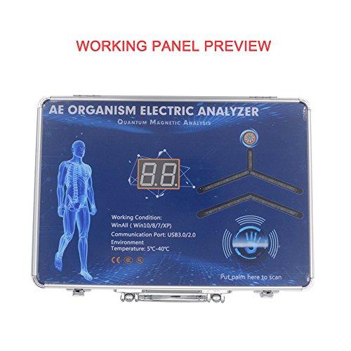Quantum Resonance Magnetic Analyzer Hand Touch Model Sub-Health Body Analyzer 47 Reports English and Spanish Software 2018 by Enjoymart (Image #1)