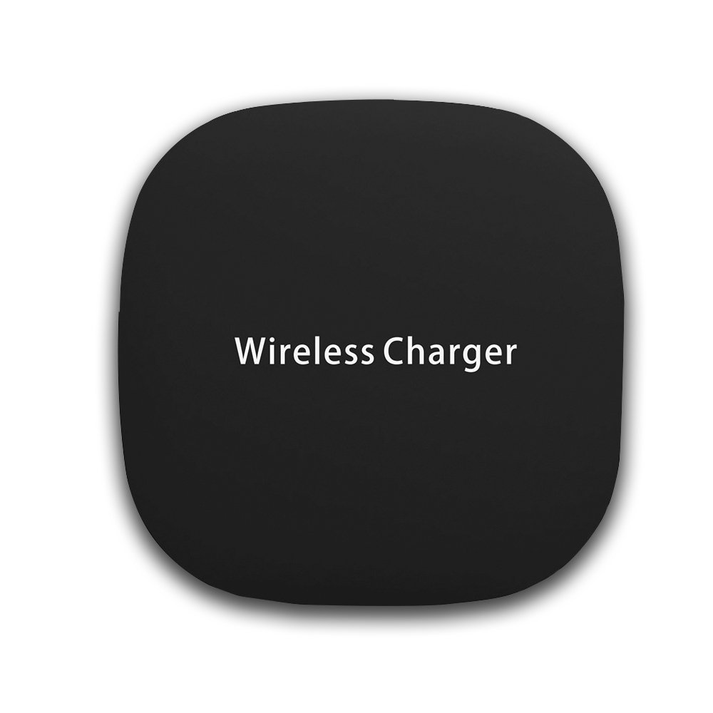 XYTMY TS01 Fast Charge Wireless Charging Pad compatible with all the Qi-Enabled Devices white & black (BLACK)