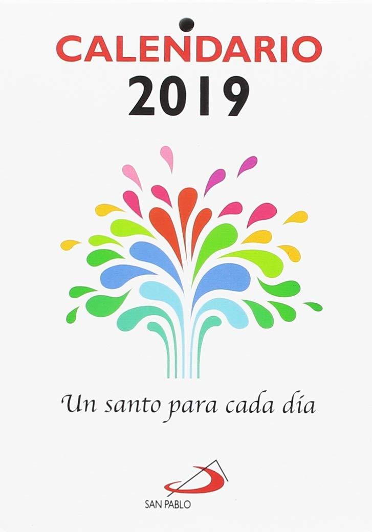 Calendario Grande.Calendario Un Santo Para Cada Dia 2019 Letra Grande Equipo