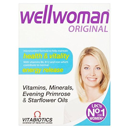 Vitabiotics Wellwoman 30 por paquete: Amazon.es: Salud y cuidado personal