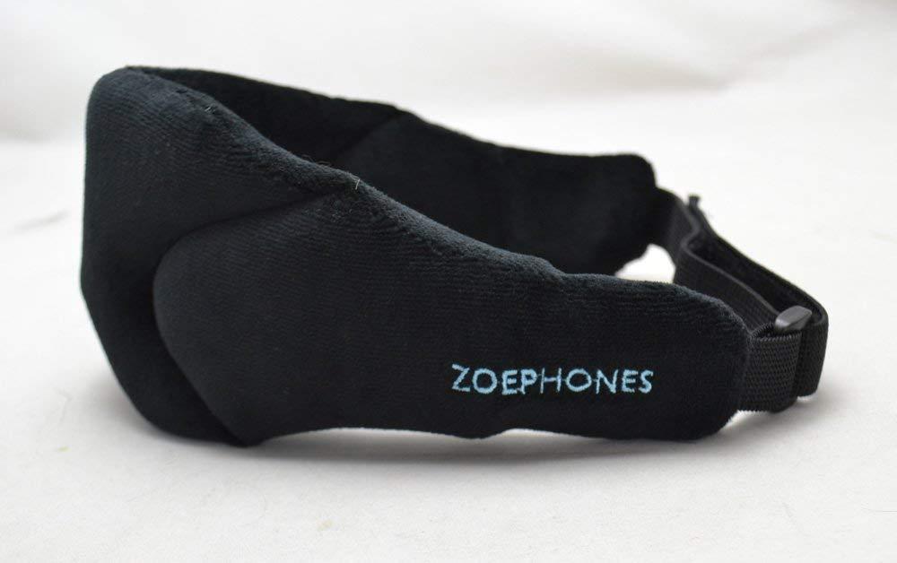 ZoePhonesTM Meditation Phones Eye Mask Wireless Sleep Phones,Ideal for Meditation- Black 141[並行輸入] B00NXVGJNU