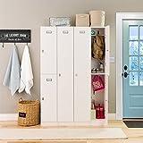 Prepac Elite 4 Piece Storage Locker in White