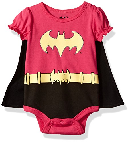 Warner Brothers Baby Girls' Batman Super Creeper with Cap...