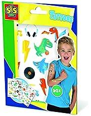 SES Creative 14281 Tattoos voor kinderen