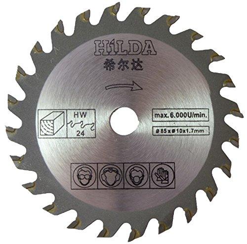 wood saw blade. circular saw blade 85mm diameter x 10mm bore 24t wood cutting u