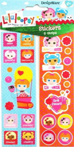 Lalaloopsy Stickers (8 strips)