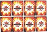 20 (Twenty) Bakugan Storage Pages for 3 Ring Binder (Each Page Stores 8 Cards)