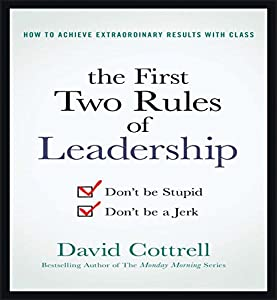 The First Two Rules of Leadership Audiobook