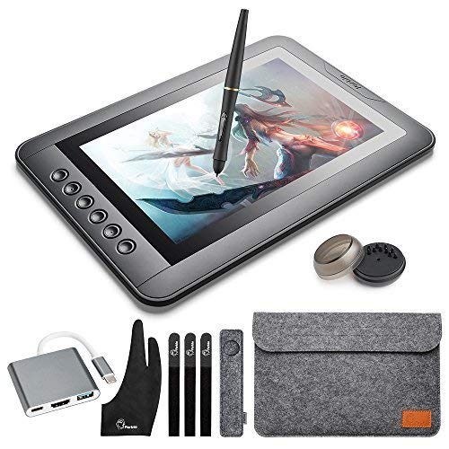 """Parblo Mast10 10.1"""" Graphic Tablet Drawing Monitor with Batt"""
