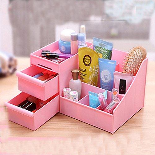 UXTIS Women Makeup Case Plastic Drawer Household Category Storage Box Cosmetic Desktop, (Categories Desktop)