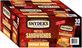 snyders cheese pretzels - Snyder's of Hanover Cheddar Cheese Pretzel Sandwiches, 30 Count (Pack of 30)