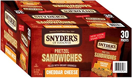 Snyders Hanover Cheddar Pretzel Sandwiches product image
