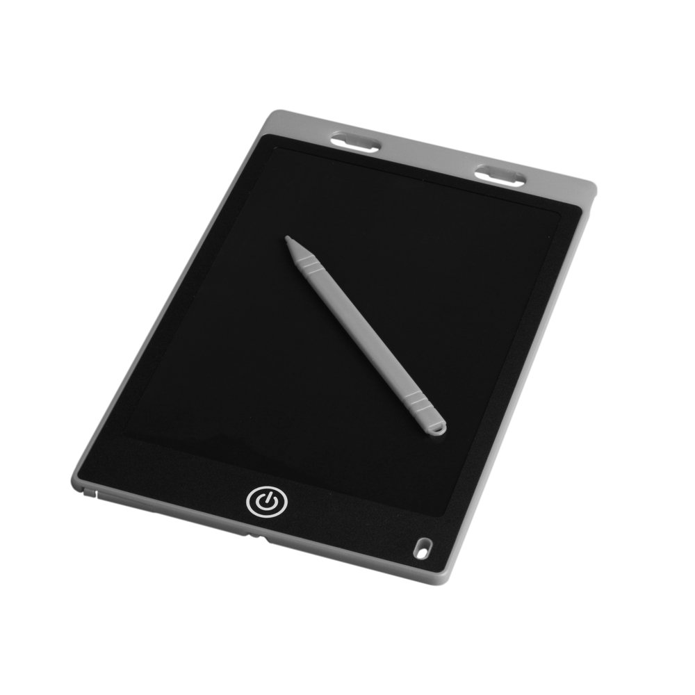 iQhodo 8.5-Inch Writing Tablet LCD, Drawing Pad Daily Planner Board (8.5-inch, Gray)