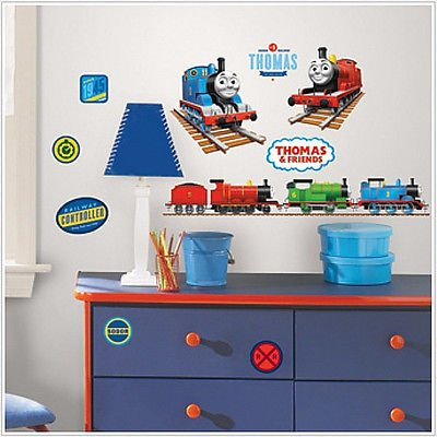 Thomas The Tank Engine Wall Stickers 33 Decals Trains Room Decor James Percy