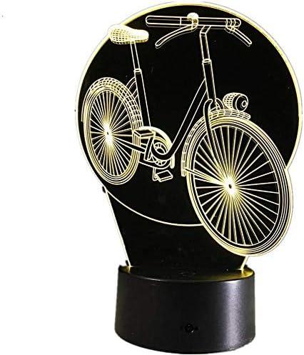 AI LI WEI Luz de Noche, Fresca de la Bicicleta de la lámpara llevó ...