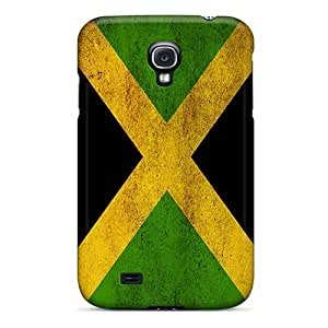 New Starting Galaxy S4 Hybrid Tpu Case Cover Silicon Bumper Jamaican Flag