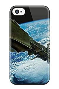Anti-scratch And Shatterproof Spaceship Phone Case For Iphone 4/4s/ High Quality Tpu Case