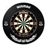 WINMAU BLACK EXTREME DARTBOARD SURROUND RUBBER RING by PerfectDarts