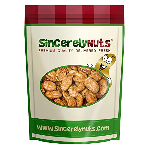 Sincerely Nuts Butter Toffee Pecans Whole - Three (3) Lb. Bag - Amazingly Appetizing - Fresh & Crunchy - Filled With Healthy Nutrients