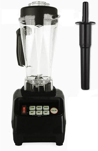 2L presupuesto Exprimidor, batidora, picadora de carne, Robot de cocina, hielo de Crusher, 2200 W, color negro: Amazon.es