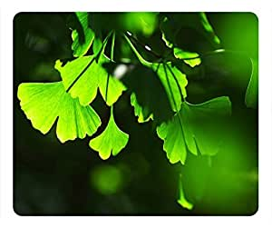 Spring Design Rectangular Mouse Pad Leaves