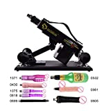 Auto Love Sex Machine Sets Pumping and Thrusting Adjustable Dildo Sex Shoot Gun for Male Female