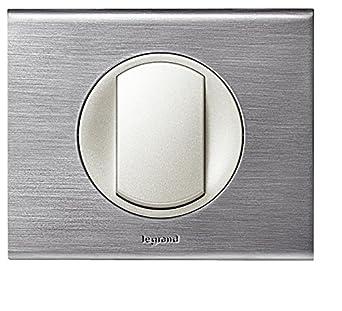 Moderne Interrupteur Legrand. Va et vient Céliane Inox Brossé: Amazon.fr IL-93