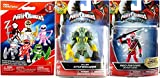 mighty morphin armored red ranger - Power Rangers Action Figures 2-Pack Saban's Ninja Steel Edition 5