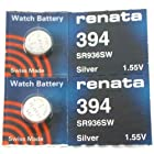 #394 Renata Watch Batteries 2Pcs