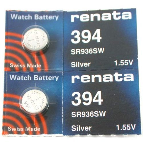 (#394 Renata Watch Batteries 2Pcs)