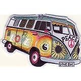 "Bully-bus-hippie love-motif ""peace-patch patch patch"