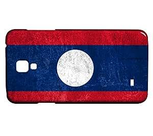 Funda Carcasa para Galaxy S4 Mini Bandera LAOS 01