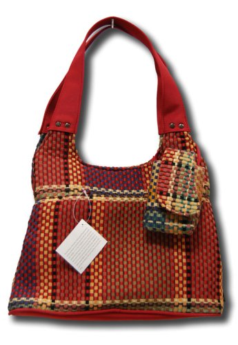 Donna Sharp Quilts Quilted Weaver Roomy Bag with Matching Cell Phone Case 41992