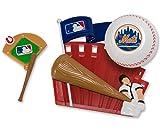CAKEMAKE MLB Home Run, Cake Topper, New York Mets