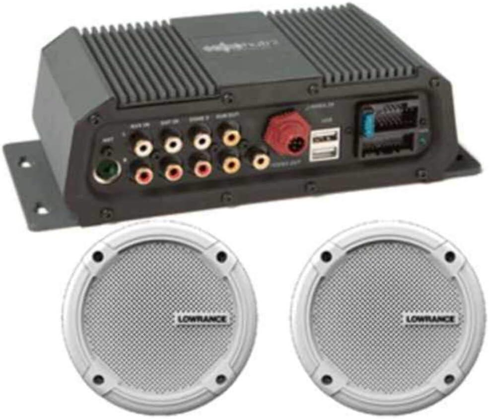 amazon.com : lowrance sonichub sonichub2 marine audio server + speakers :  sports & outdoors  amazon.com