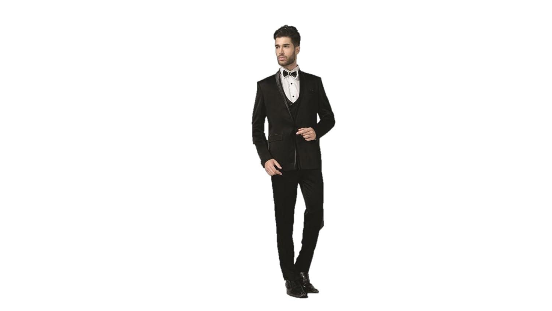 63b8109b1d1 Shreeman AC-01543-40 Black Men Business wear  Amazon.in  Clothing    Accessories