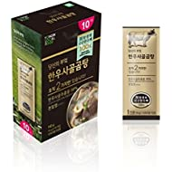 ARIO Antibiotic Free Beef Bone Broth Concentrate | Seolleongtang | Gomtang | Ox Bone Soup | 10 Stick Packs